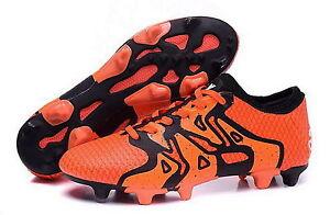 Details zu adidas X 15.1 Primeknit FGAG Fussballschuhe orangeschwarz S77878