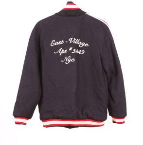 Zara Lookbook Collection Baseball Collection Mode marine Bleu Manteau AutomneHiver qUzVGSMp