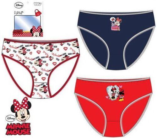 Unterwäsche 3er Set Minnie Geschenk Unterhosen Disney Mickey Mouse