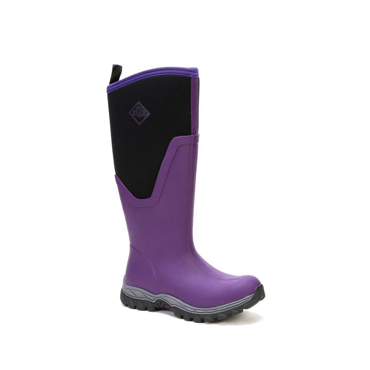 Muck botas Company para mujer Ártico Sport II Alto, Acai púrpura, Goma De Neopreno