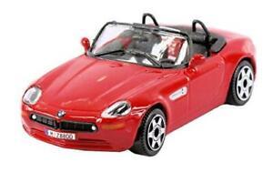 Nuevo-BMW-Z8-Burago-1-43-Diecast-en-Rojo-Burago-039-Street-fuego-039-Range