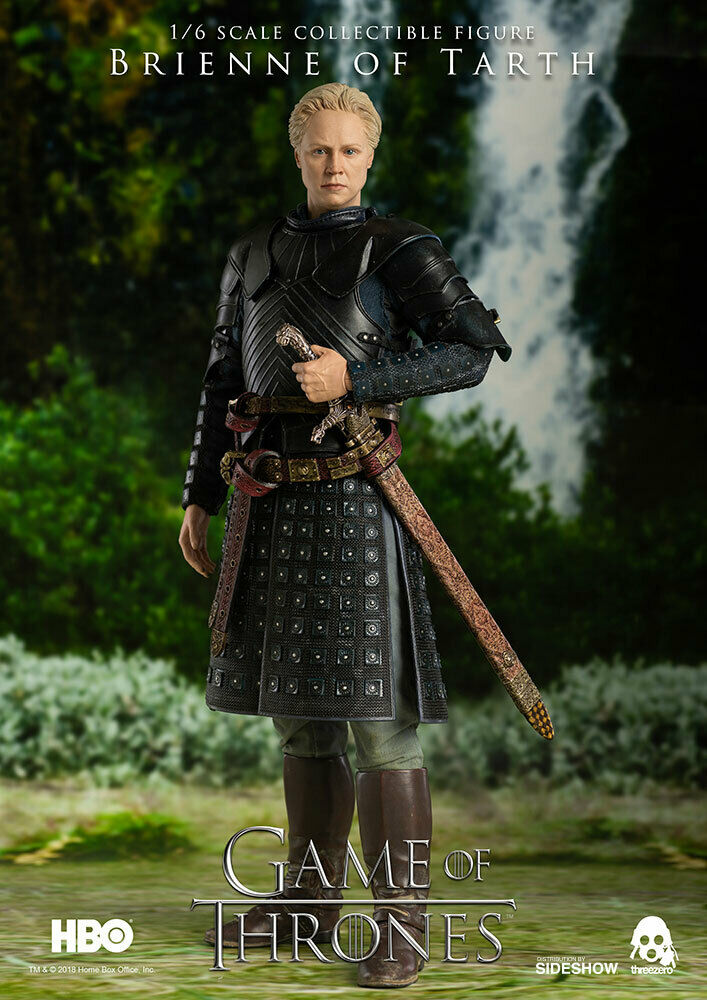 1 6 Scale Game of Thrones Brienne of Tarth Figure ThreeZero