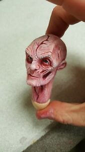 Custom-painted-supreme-leader-snoke-head-for-12-inch-figure-new