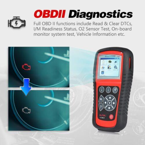 Autel MaxiTPMS TS601 OBD2 OBDII Scanner TPMS Tire Sensor Diagnostic Reset Tool