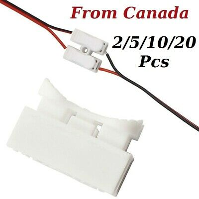 20Pcs 2P CH2 Quick Connector Cable Clamp Terminal Block Spring Connector Wire LED Strip Light Wire Connecting 250V 10A