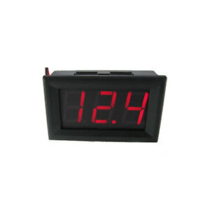 Sensational 12V Red Led Voltmeter Battery Charging Indicator Wiring Dashboard Wiring Cloud Hisonuggs Outletorg
