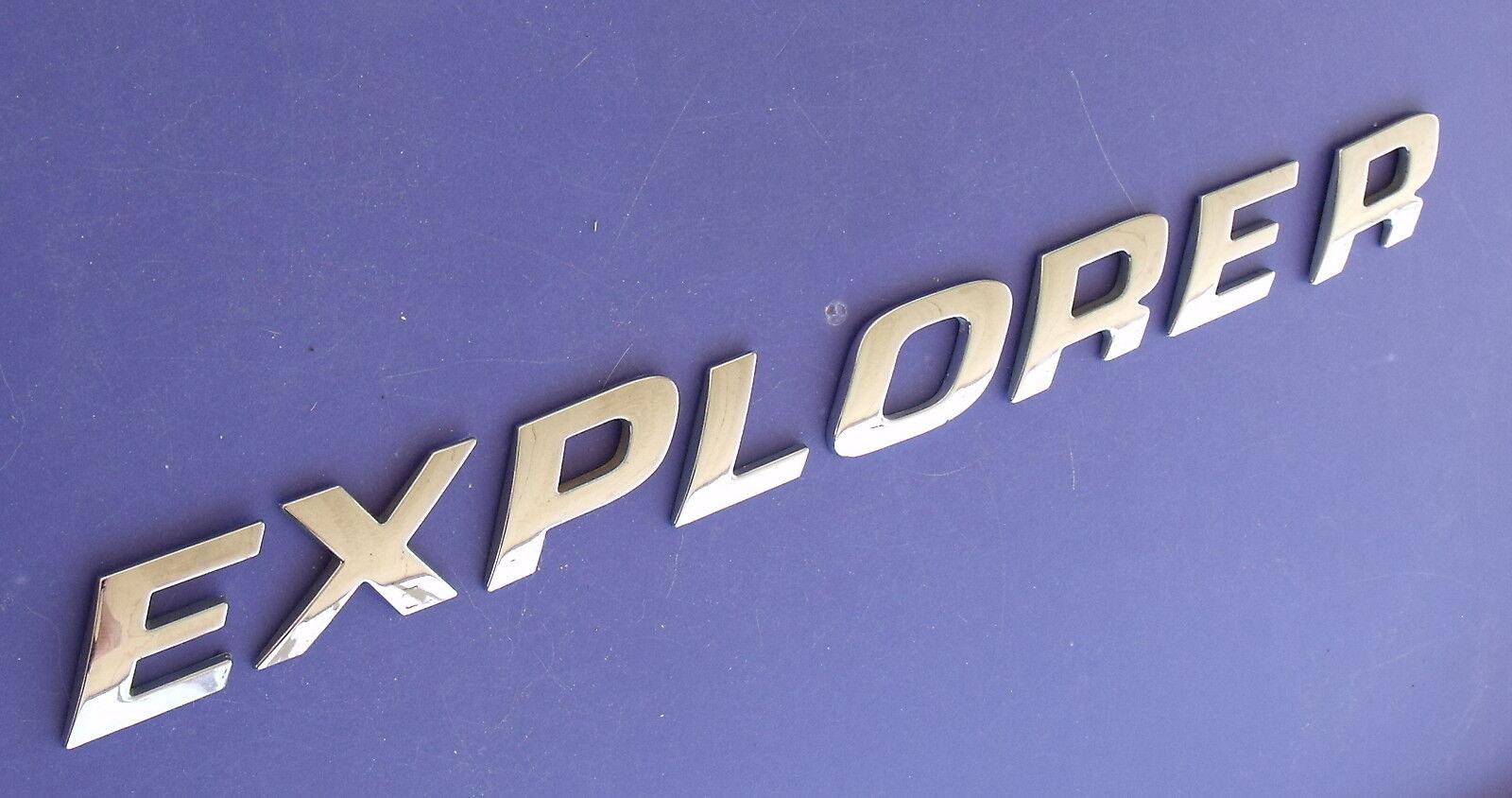 02-03 Ford Explorer XLT Logo 1L2Z-7842528-BA Decal Emblem Decorative Ornament