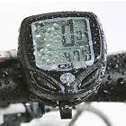 Wireless LCD Bike Computer Odometer Waterproof Speedometer Cycle Bicycle