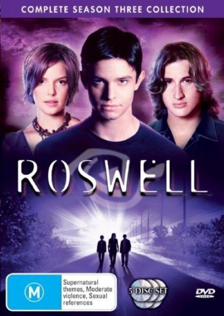 Roswell : Season 3 (DVD, 2006, 5-Disc Set)