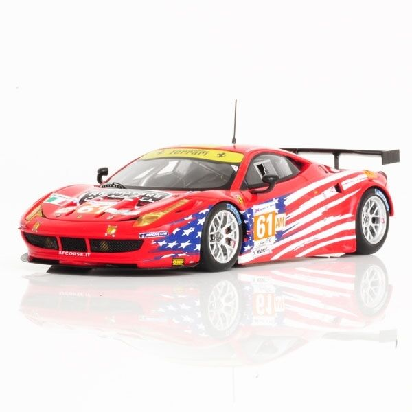 Ferrari 458 Italia Gte Am  61 Team Luxury Racing  24h Le Mans 2012 Fujimi 1 43  loisir