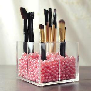 Acrylic-Make-up-Storage-Empty-Holder-Cosmetic-Case-Box-For-Makeup-Brush-Pen-SX