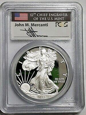 2008 W American Silver Eagle $1 PR69DCAM PCGS