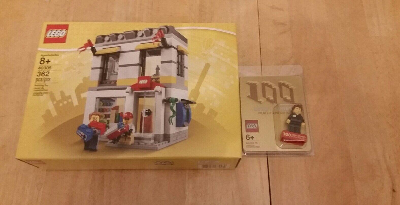 2019 Lego 100th norteamericano tienda Promo Exclusivo Minifigura 46AB8 +40305