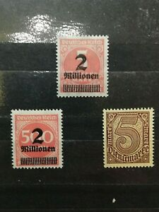 German-Stamps-Germany-1923