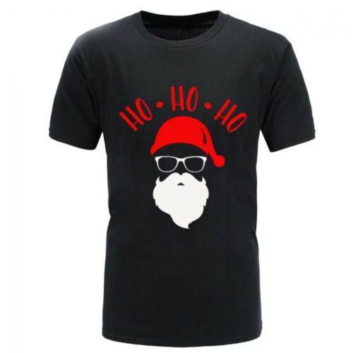 Noël classique Santa Fantaisie T-shirt Unisexe Coton Épais Neuf