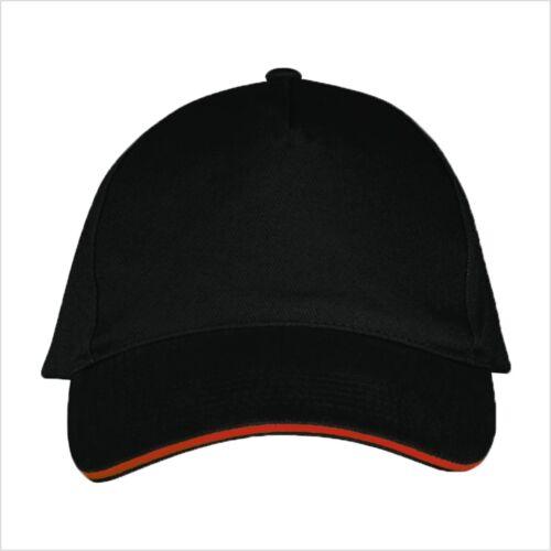 Cap Basecap neutral ohne Text Fun neu Mütze Kappi Baseball Cap Schirmmütze NEU