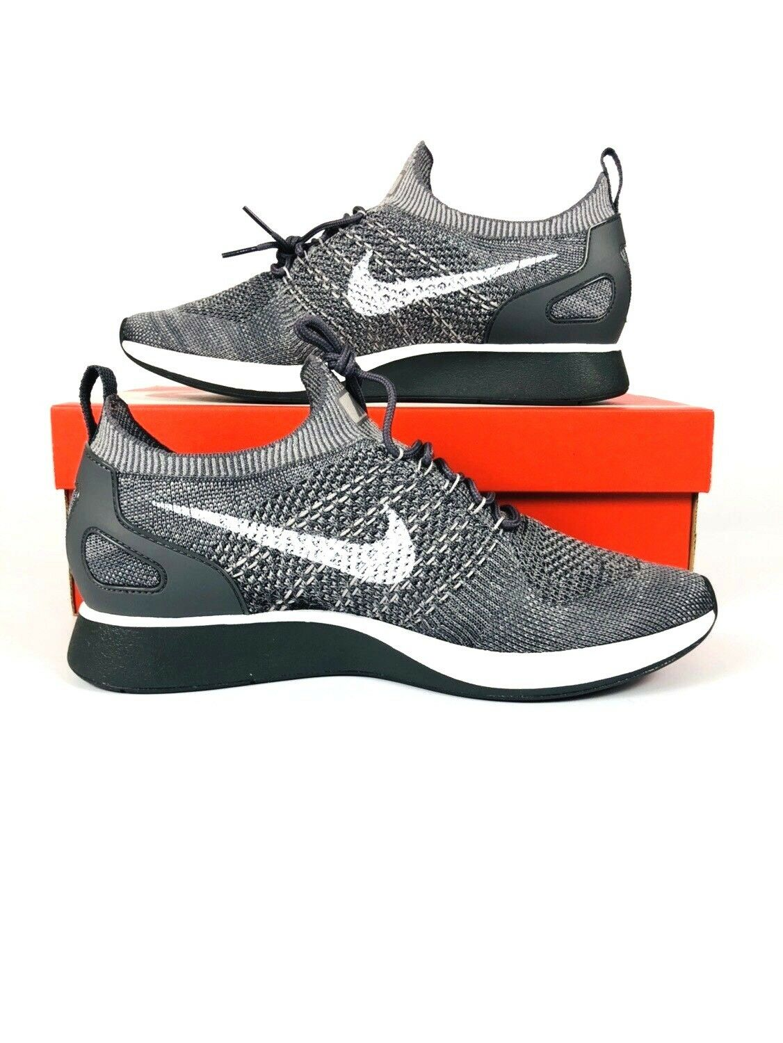 5cdc79806 Nike Air Air Air Zoom Mariah Flyknit Racer 918264-009 Grey White Men s Shoes  df47b3