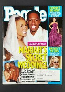 Mariah Carey People Magazine May 19, 2008 Wedding Nick Cannon Britney Spears