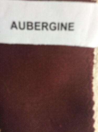200 thread  100/% Cotton Bailey caravan fixed bed  Fitted Sheet Double Aubergine
