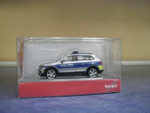 Herpa coches vw tiguan policía Wiesbaden 093613