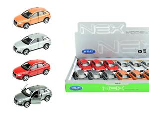 Audi-Q3-Modellauto-Auto-LIZENZPRODUKT-Massstab-1-34-1-39