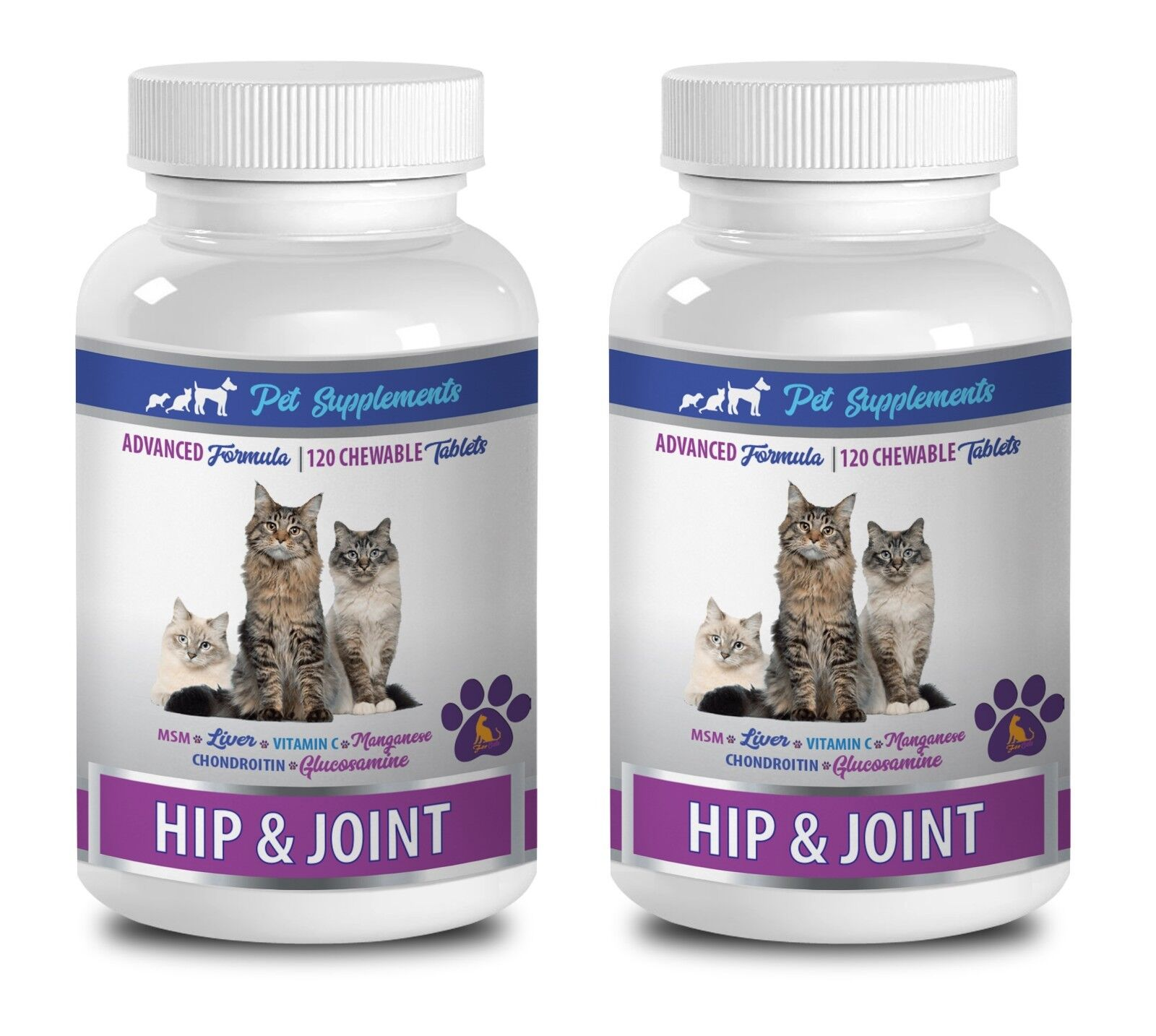 Cat supplements immune - CAT HIP AND JOINT SUPPORT 2B- glucosamine chondroitin