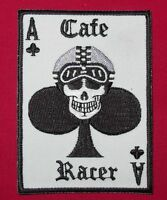 Cafe Racer 59 Ace Card Rockers Club Embroidered Biker Patch