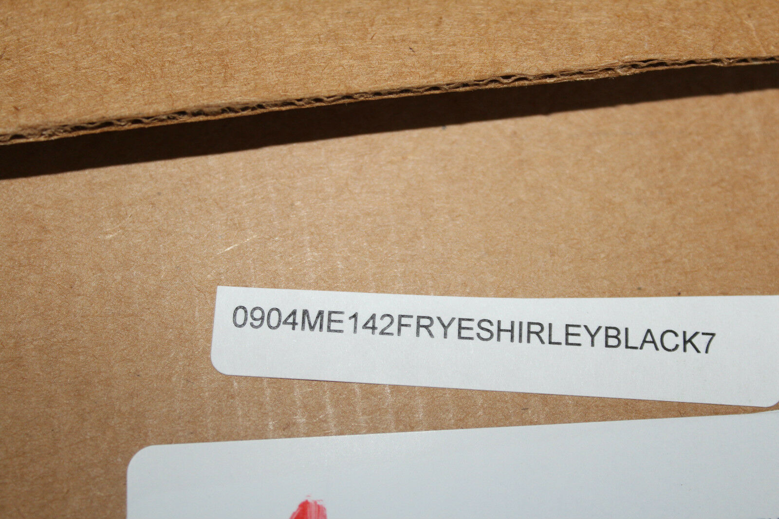 FRYE FRYE FRYE SHIRLEY RIDING BLACK LEATHER  7us  388 149805