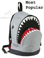 Shark Backpack Large Morn Creations Great White Grey Week Killer Whale Dancing