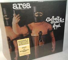 AREA arbeit mach frei  BOX LP + BOOK + CD + MAXI POSTER   italian psych - prog