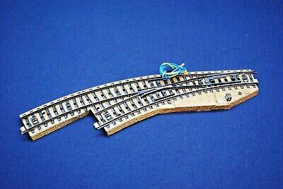 E77 Märklin H0 5119 M-Gleis elektrische Weiche R rechts geprüft *Note 3*