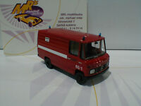 """Brekina 36829 # Mercedes-Benz L 406 Baujahr 1981 """" Feuerwehr Würzburg """" rot 1:87"""