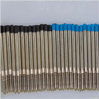 10PCS Fine Ballpoint Pen Refills Smooth Ink 0.5mm Medium for Parker Cross Style