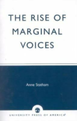 Rise of Marginal Voices : Gender Balance in the Workplace by Statham, Anne