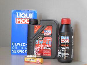 Maintenance-Set-Aprilia-Scarabeo-125-Oil-Endantriebsol-Spark-Plug-Service