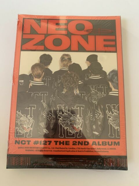 📀 Neo Zone NCT #127 The 2nd Album (NEW) CD