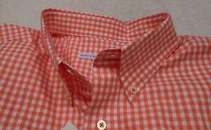 Southern-Tide-Cotton-Blend-Gingham-Check-Skipjack-Sport-Shirt-NWT-Medium-99-50