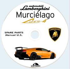 Spare Parts,Lamborghini Murciélago SV LP 670-4,USA Version MY 2010