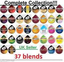 TASSIMO T-disc / Capsules COMPLETE COLLECTION 37 FLAVOURS = 48 T-discs pods