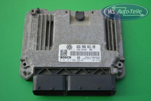 SKODA AUDI VW CENTRALINA MOTORE dispositivo di controllo ECU 03g906021hb 0281013606