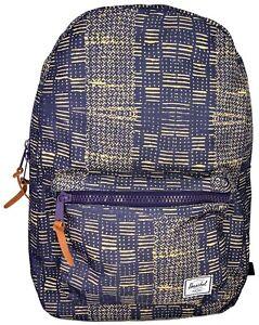 396c419f04 Details about Zaino Uomo Donna Blu Herschel Backpack Men Woman Settlement  Classics Black/Ink B