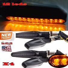 Honda GROM MSX125 Turn Signal Light 12 LED Indicators Universal Blinker 12V