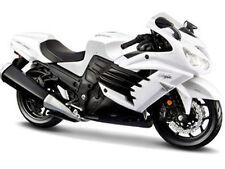 MAISTO MOTORCYCLE 1:12 KAWASAKI NINJA ZX-14R White 12028