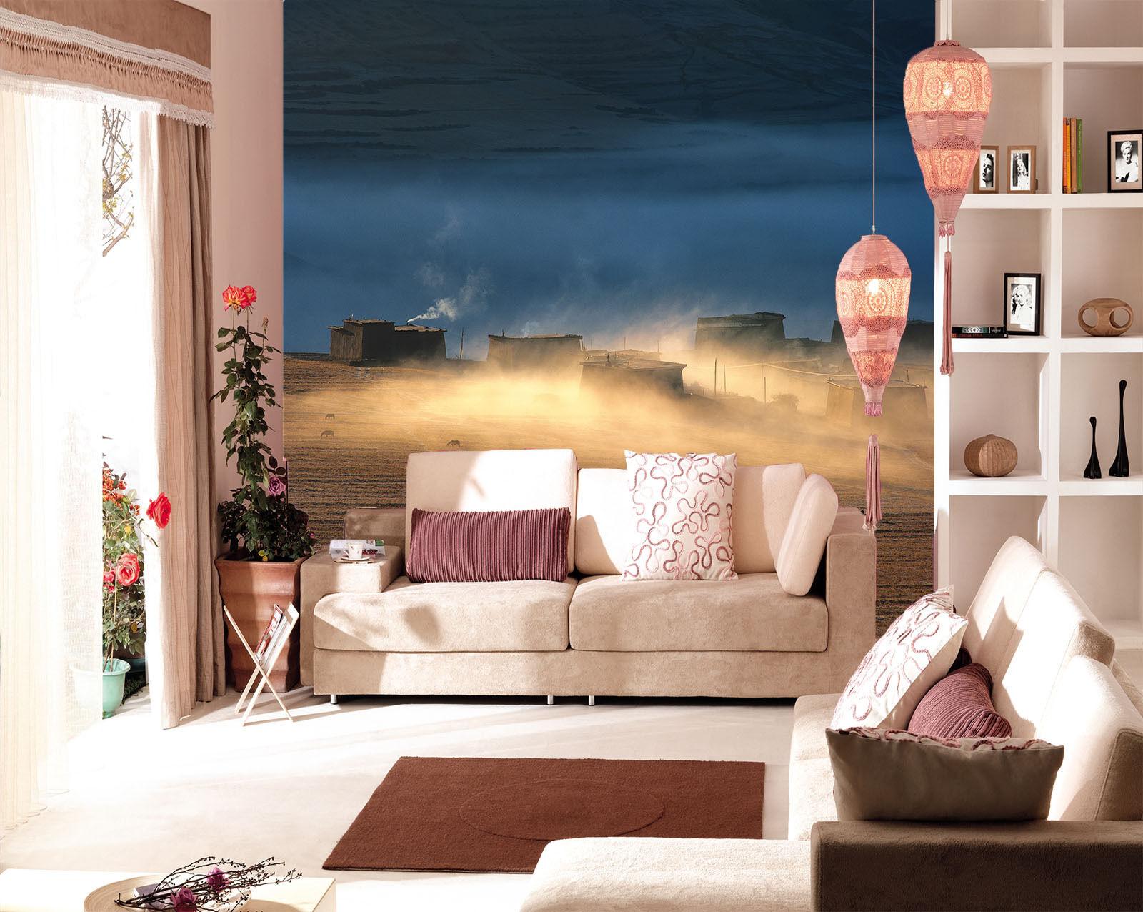 3D 3D 3D Beaux Ranch 790 Photo Papier Peint en Autocollant Murale Plafond Chambre Art b1aa8d