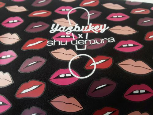 YAZBUKEY Shu Uemura pouch Lips Design Limited Edition 2018
