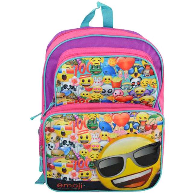 Emoji Boys & Girls 16\' Canvas Cargo Backpack