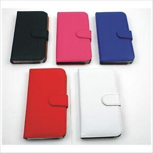 Galaxy-Note-3-Leder-Handytasche-Schutz-Case-Bumper-Huelle-Etui-Tasche-5-Farben