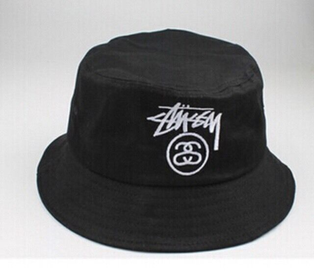 Black Retro Outdoor KYC Bucket Hat Summer Unisex Sun Hunting Fishing Cap  Beanie  80279ea22b0
