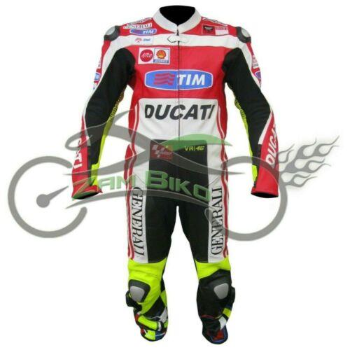 TUTA IN PELLE MOTO Ducati MOTOGP TUTA IN PELLE RACING MOTO