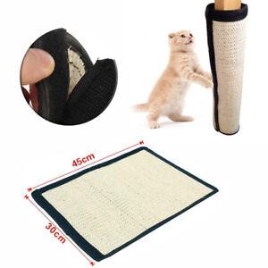 Image Is Loading Pet Cats Scratching Post Sisal Mat Scratcher Corner